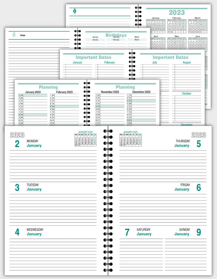 daily schedulle template ATD02