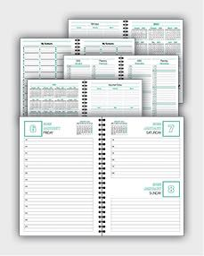 daily schedulle template ATD09