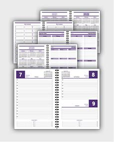 daily schedulle template ATD13
