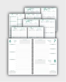daily schedulle template ATD22