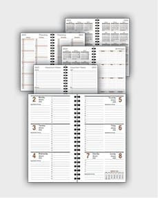 daily schedulle template ATD25