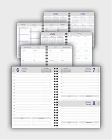 daily schedulle template ATD29