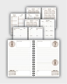 daily schedulle template ATD30
