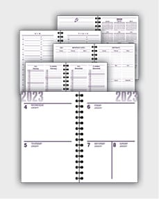 daily schedulle template ATD41