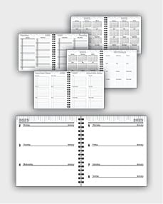 daily schedulle template ATD42