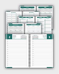 daily schedulle template ATD47