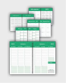 daily schedulle template ATD51