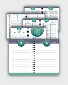 daily schedulle template ATD57