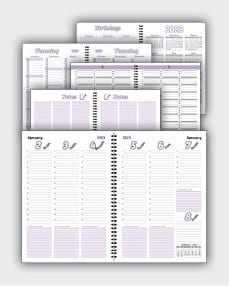 daily schedulle template ATD59