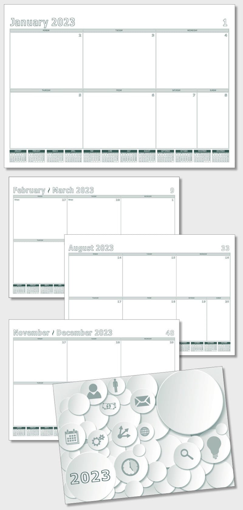 Desk pad planner calendar template model atdp04 planner pad calendar atdp4 maxwellsz