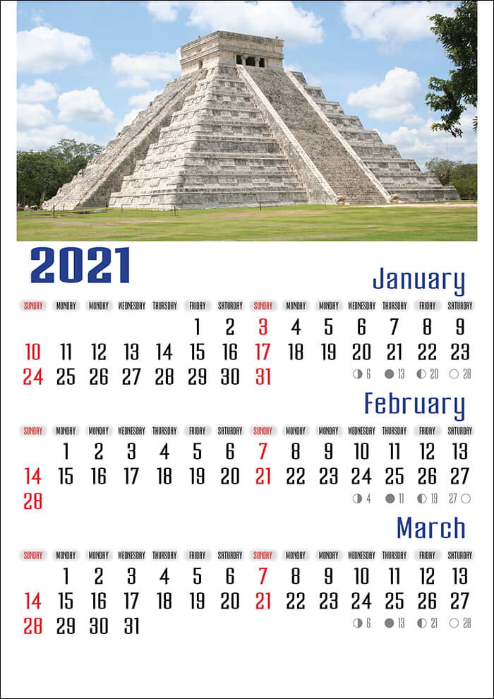 Wall Calendar Template In Indesign Model Atwc 30
