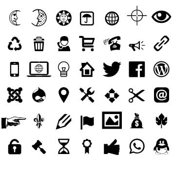 AT Clipart Icons Basic Signs